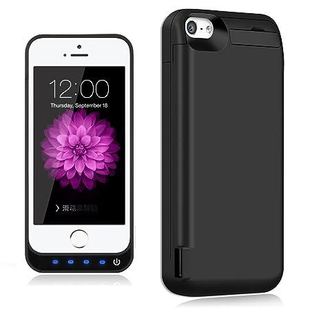 Funda de batería para iPhone 5S, 5C y SE, 5 extendida ...