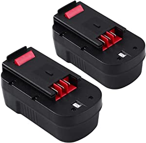 Upgraded 3000mAh HPB18 Replacement for Black and Decker 18 Volt Battery HPB18-OPE 244760-00 A1718 FSB18 FS18FL 18V Firestorm Cordless Power Tools