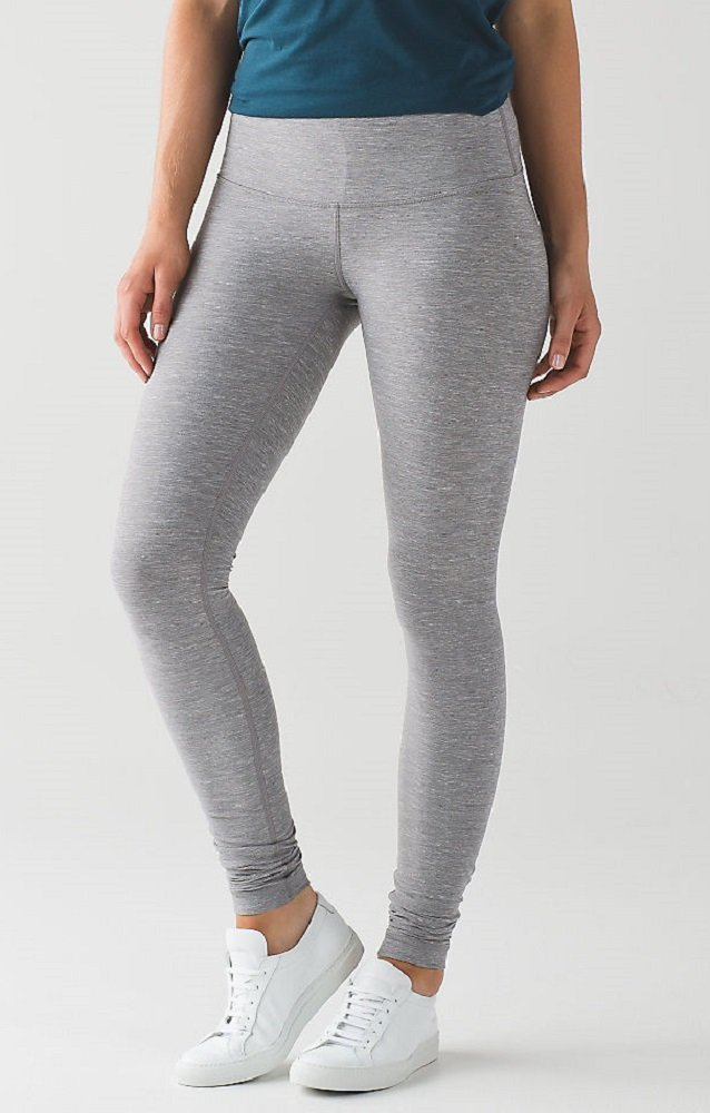 Lululemon Wunder Under Pant III Full On Luon Yoga Pants (Heathered Slate, 12) by Lululemon (Image #3)