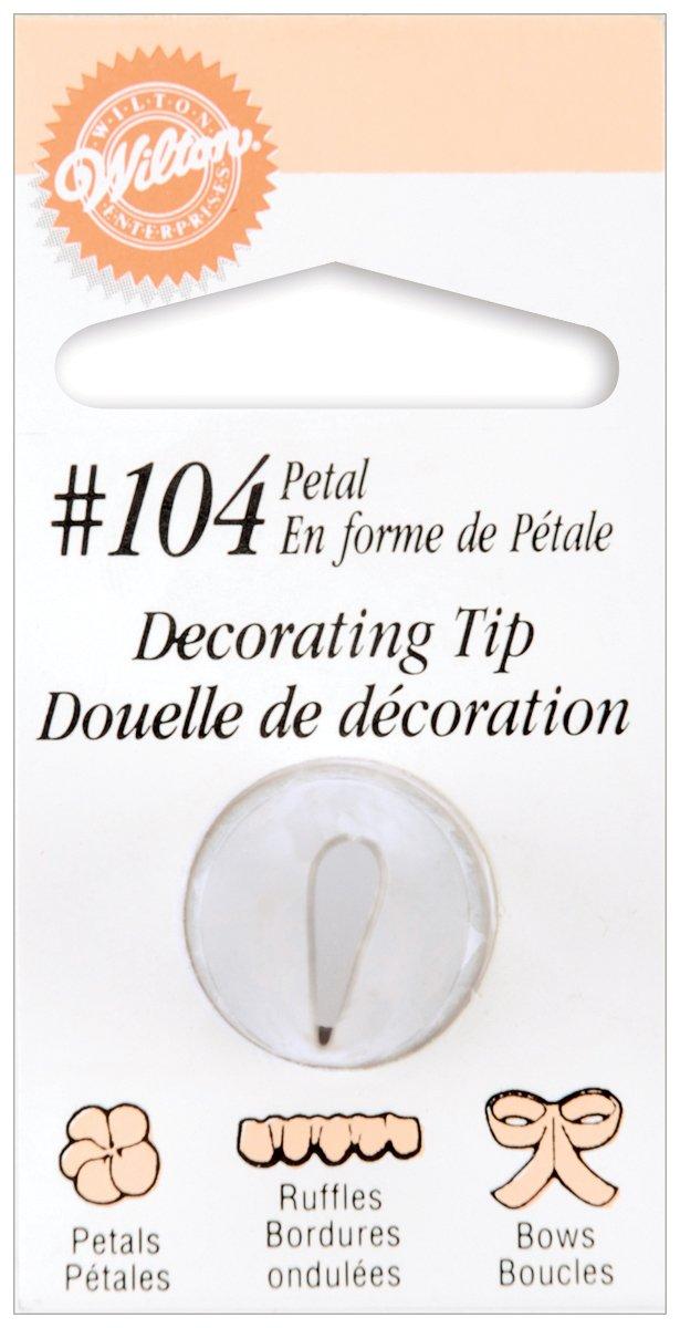 Wilton Decorating Tip, No.104 Petal