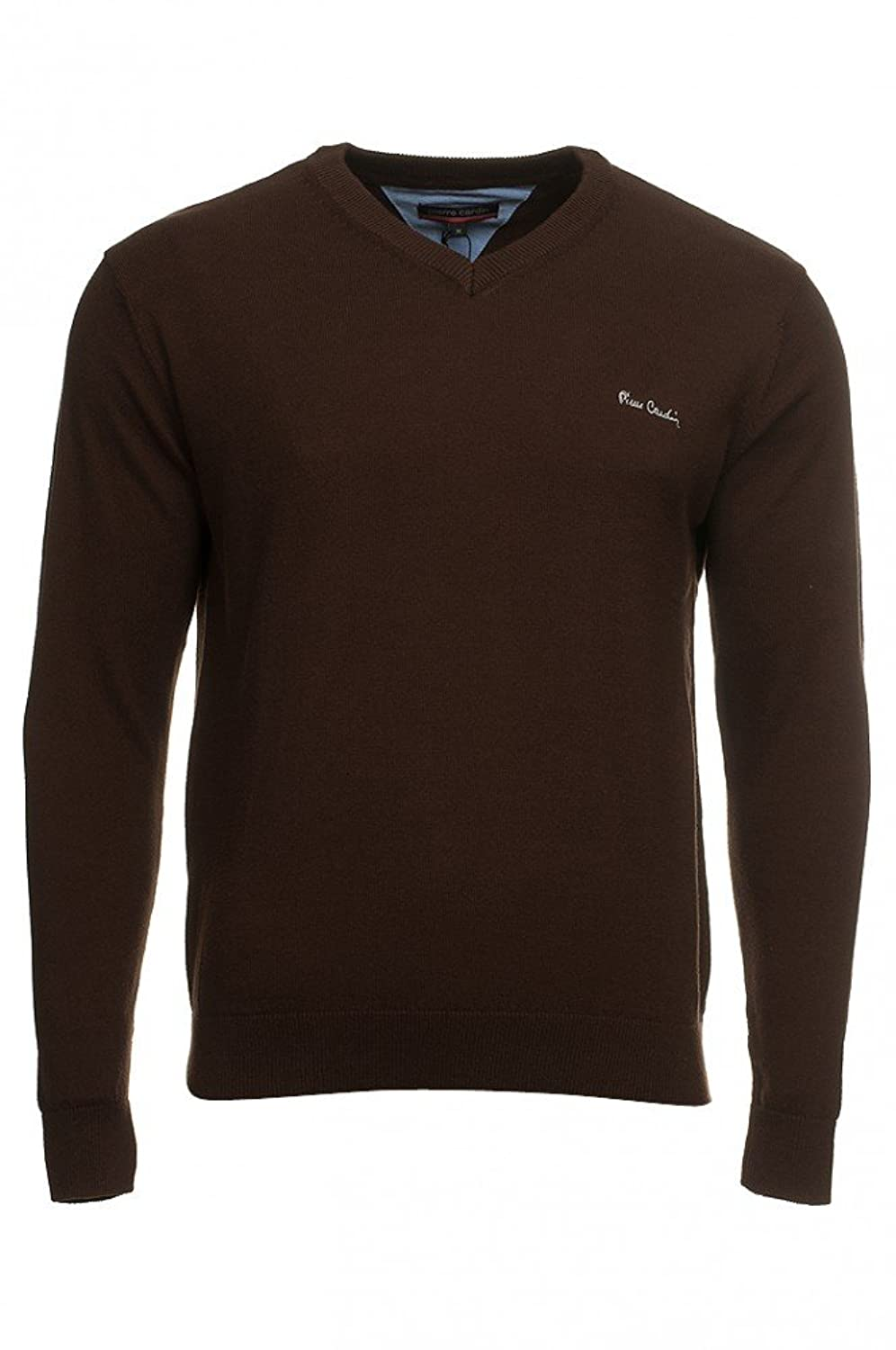 Pierre Cardin Men's Jumper Brown Brown