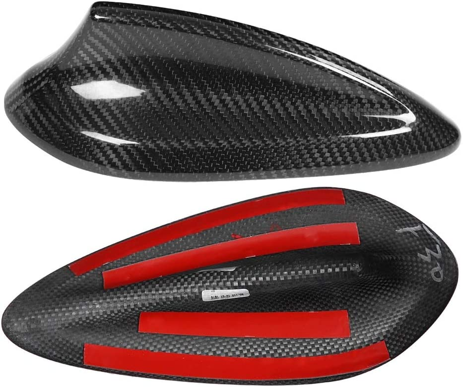 Car Antenna Cover - Car Carbon Fiber Antenna Shark Fin Cover Trim Compatible with BMW F22 F30 F35 F34 F32 F33 F80