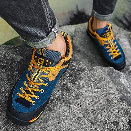 メンズ靴 アウトドアシューズ 防水 ハイキング 軽登山 シューズ おしゃれ ラギットソール 滑りにくい 衝撃吸収