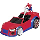 Spiderman 9094Marvel RC web Wheelie giocattolo elettronico