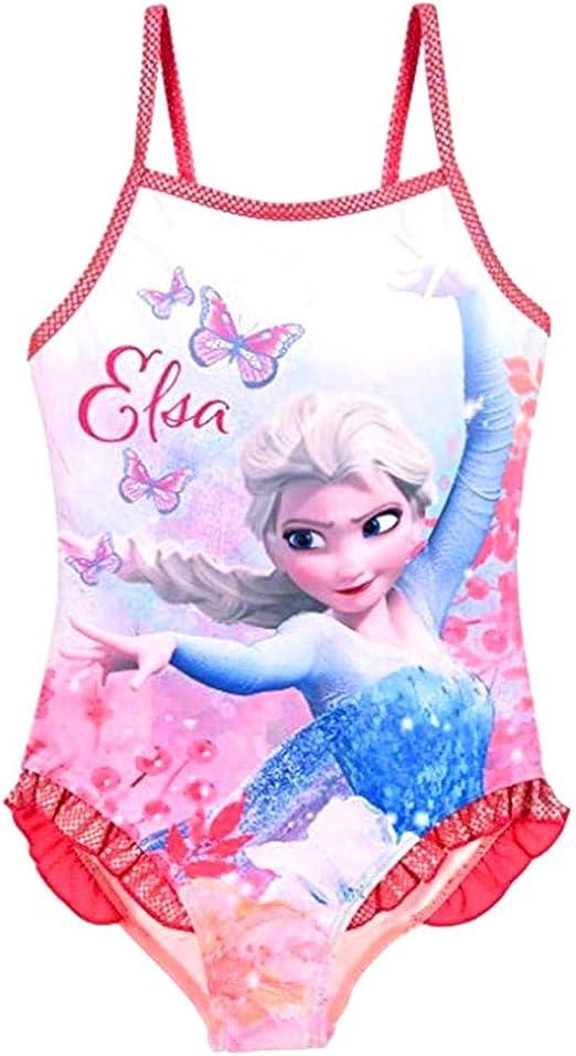 Intero Monospalla Colore Azzurro Elsa Adatto a Bambina Inception Pro Infinite Costume da Bagno