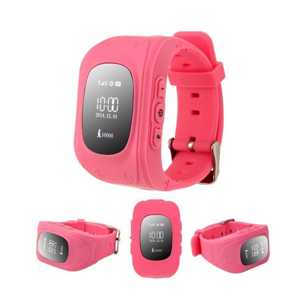 Sharplace Reloj Intelligente Alarma Monitor de Sueño para Niños GPS/GPRS Color Rosa: Amazon.es: Electrónica