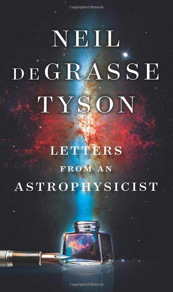 Letters from an Astrophysicist book cover