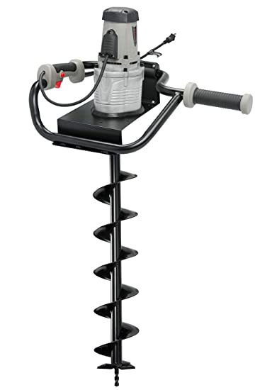 Hiltex 10525 Electric Earth Auger With 4 Bit 1 200W And 1 6 Hp Powerhead