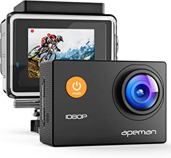 APEMAN 1080P Full HD Waterproof Action Sport Camera