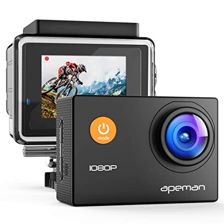 Review 【Upgraded】 APEMAN Action Camera