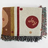 BigKitchen Hope Joy Faith Multicolor Tapestry Throw Blanket