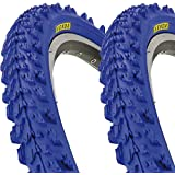 2 x Kenda K829 Fahrrad Reifen 26 x 1,95 | 50-559 blau SET NEU blue tire BIKE