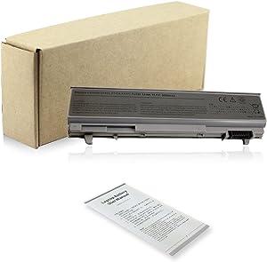 Bay Valley Parts 6 Cell 5200mAh Laptop Battery for Dell Latitude E6400 E6410 E6500 E6510 Precision M2400 M4400 M4500 Notebook, PN 312-0748 312-0749 312-0753 FU441 FU444 MP494 PT436 R822G WG351 XP394