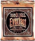 【正規品】 ERNIE BALL アコースティックギター弦 エヴァーラスト フォスファーブロンズ ミディアムライト (12-54) 2546 Everlast Phosphor Bronze