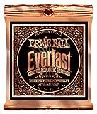 Ernie Ball Everlast Medium Light Coated Phosphor Bronze Acoustic Set, .012 - .054