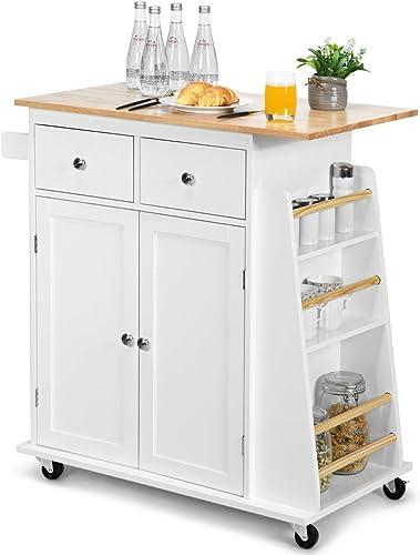 Giantex Kitchen Island Cart