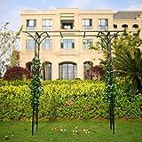 1. GO Steel Garden Arch, 6'9'' High x