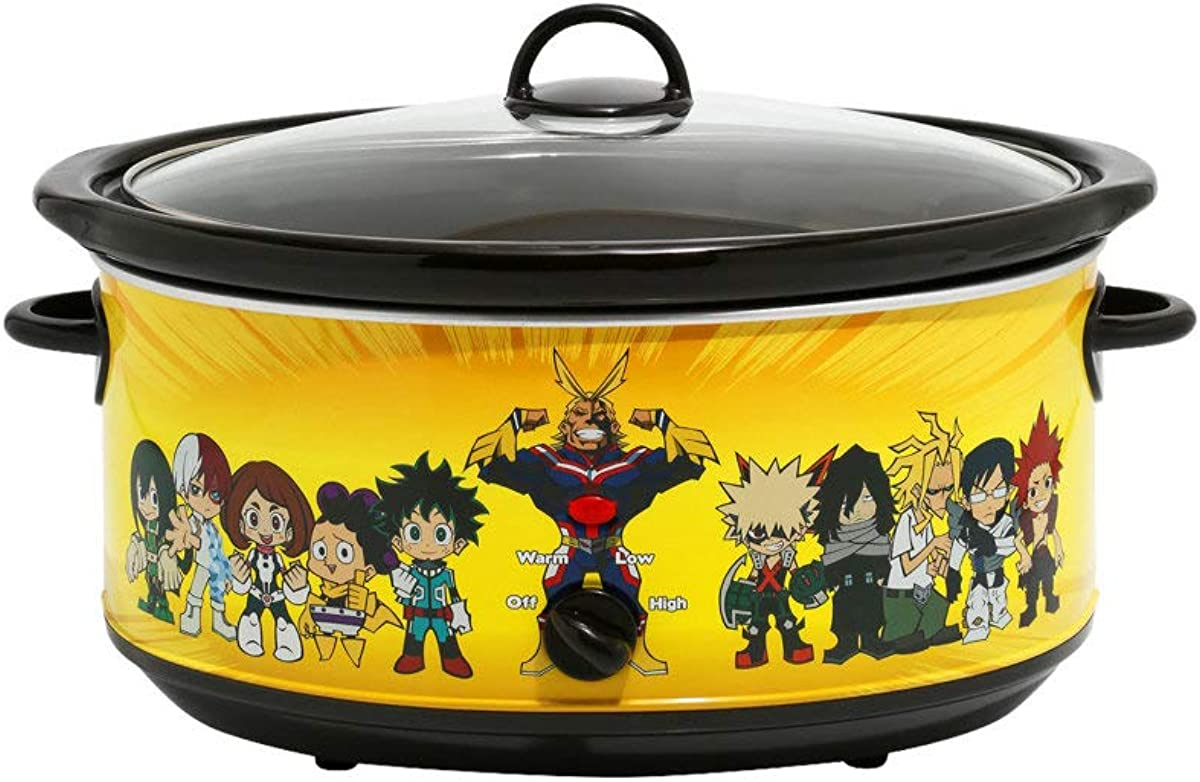 Hot Topic My Hero Academia Character 7-Quart Slow Cooker Multi One Size