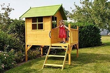 Kinderspielhaus Carina Auf Stelzen Amazon De Spielzeug