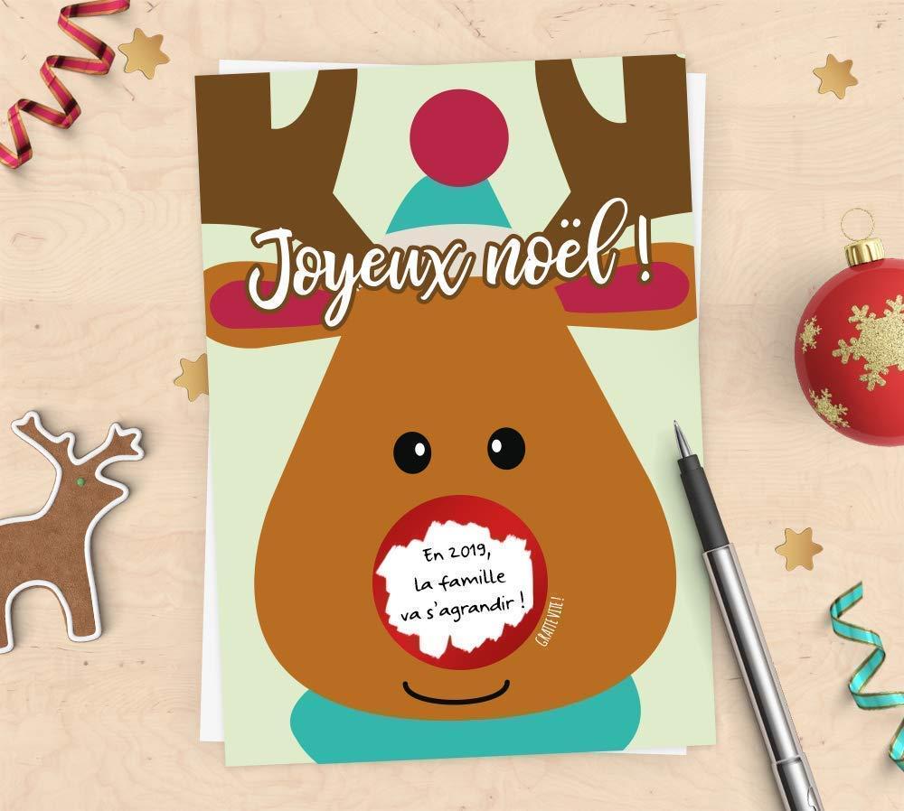 Joyeux Noël marraine-marraine de Noël carte en ligne