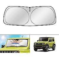 kotesoto Car Sun Shade Windshield Compatible for Suzuki Jimny 2018 2019 2020 2021 Front Window Anti-UV Sun Protection…