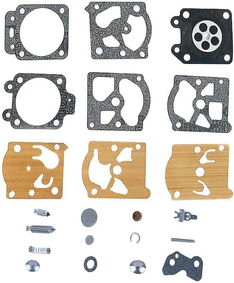 BE-TOOL Kit de reconstrucción de carburador Kit de reparación de carburador para Walbro WA WT Series Carby K20-WAT
