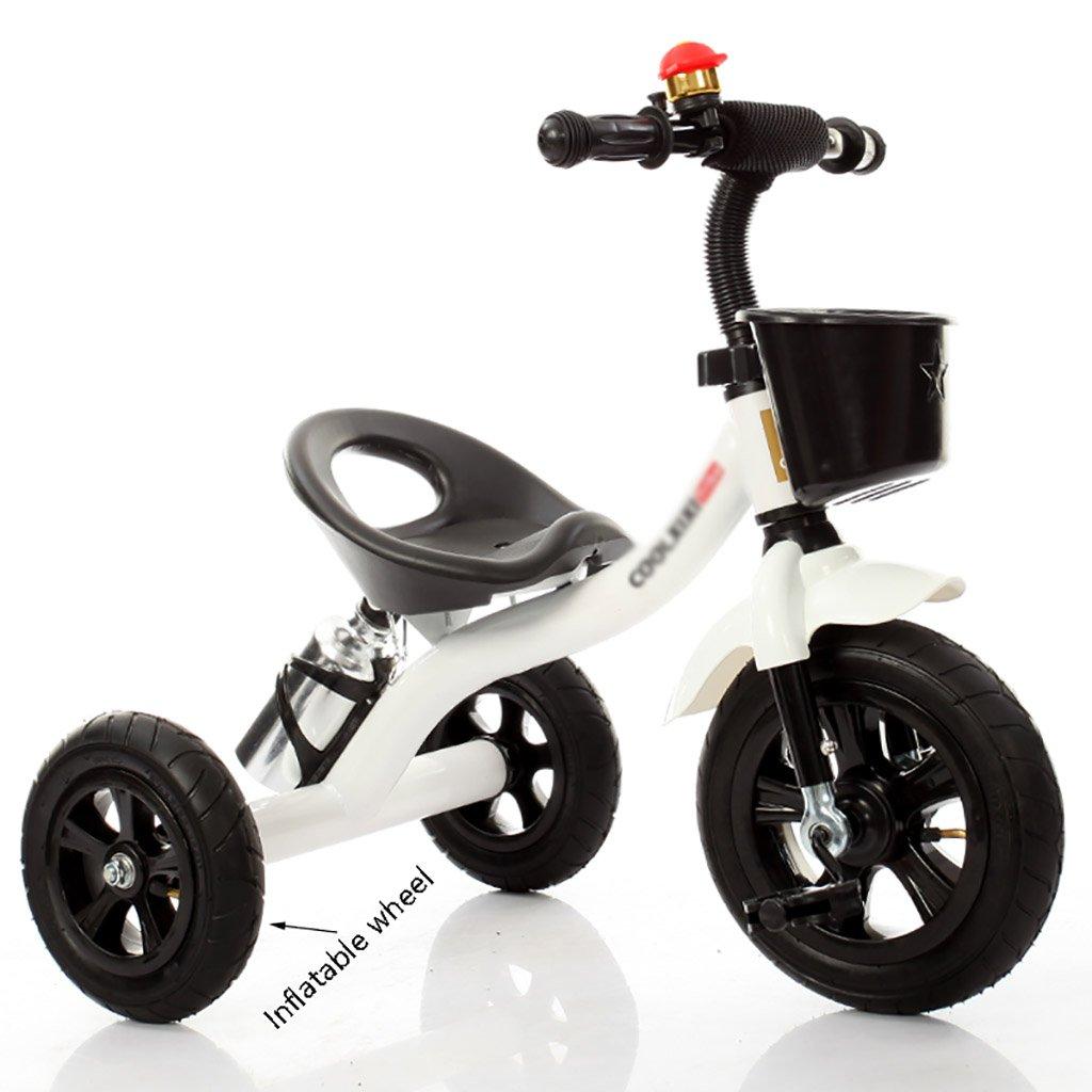 子供用トライク、三輪車の乗り物バイク、赤ちゃんの滑り自転車、おもちゃの自転車、自転車の子供、フットペダルの3つの車輪 (色 : E) B07CZFPRQTE