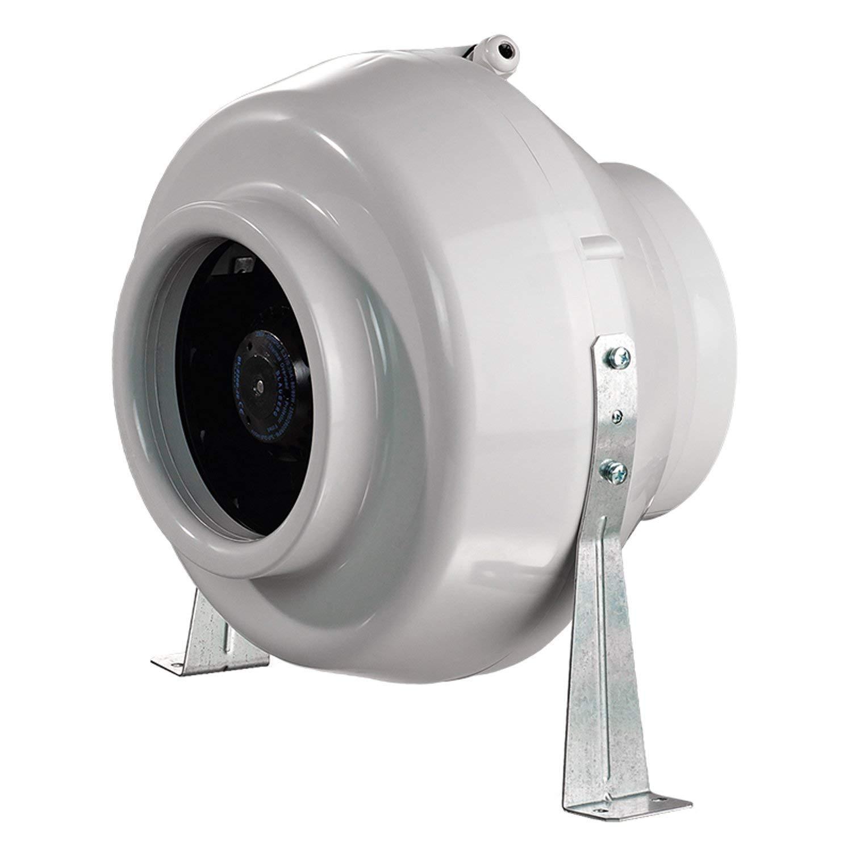 Blauberg UK VEN-CENTRO-150-C 6 Inch (150mm) in-line Ducting Fan (460m3/hour) Hydroponics