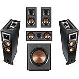 Klipsch 2 Pack R-26FA Dolby Atmos Speaker - BundleWith R-41M Bookshelf Home Speakers, R-52C Center Channel Home Speaker…