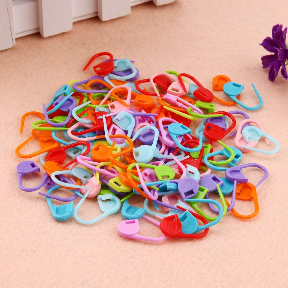 61845a9312bd Accessories For - 100pcs Plastic Markers Needle Clips Knitting Crochet  Locking Stitch Holder Clip Craft Sewing - 6s Playset Bird Qt5716 The  Walkers Office ...