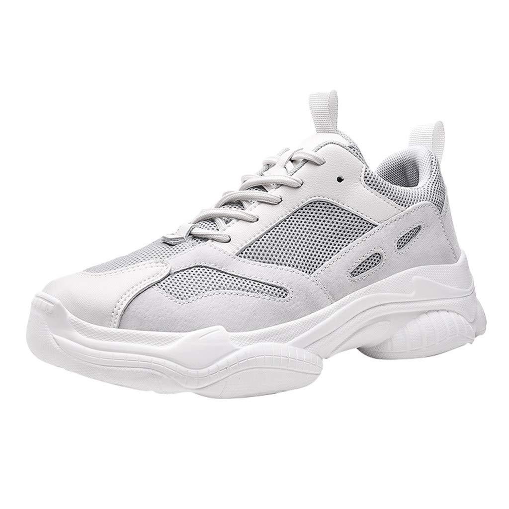 CUTUDE Sneaker Herren Damen Straßenlaufschuhe Sportschuhe Turnschuhe Outdoor Leichtgewichts Laufschuhe Freizeit Atmungsaktive Tragbare Fitness Schuhe Mode