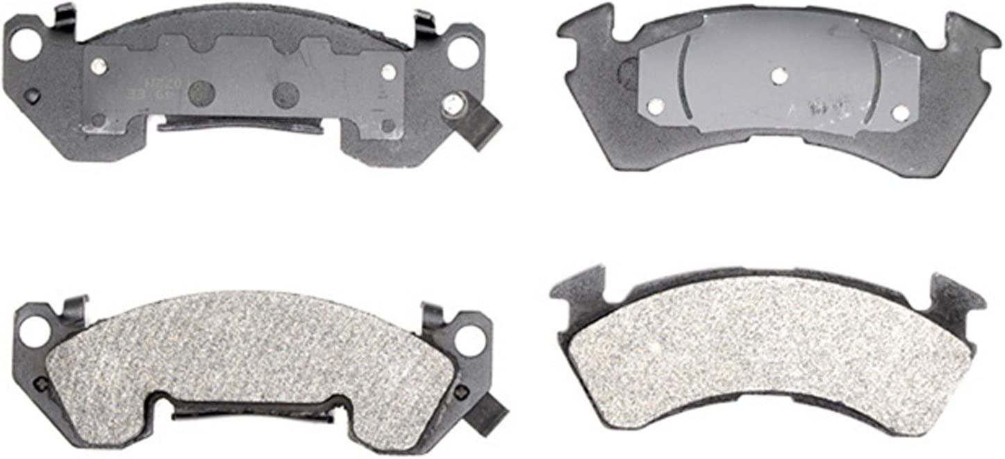 New life ACDelco Gold 17D614M Semi-Metallic Front Brake Pad Disc Limited price Set