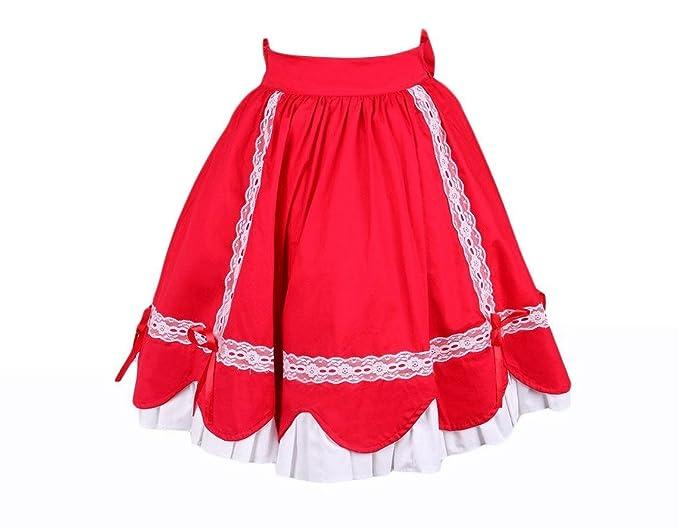 Antaina Roja Encaje Volantes Vintage Victoriana Princesa Sweet ...