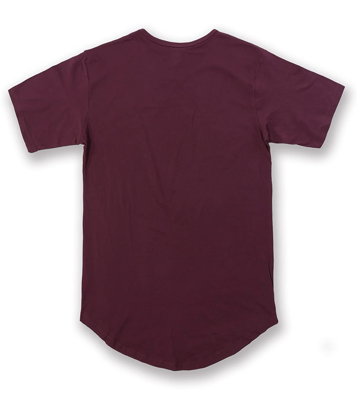 0be660a84ce Amazon.com: Men's Hipster Longline Drop Cut T-Shirts: Clothing