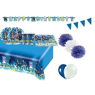 ama scan Kir 46 F Fiesta de cumpleaños playmobil Super 4: Juguetes y juegos