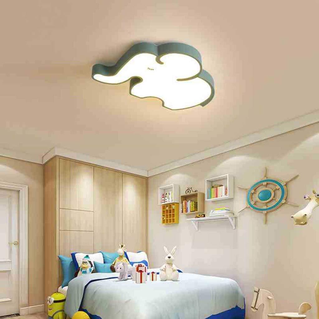 LXX-シーリングライト 漫画無地象形状天井ランプリビングルームの寝室LED省エネアイ装飾照明シャンデリア (サイズ : 46x65cm) 46x65cm  B07SNFSNFR