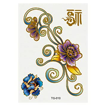 9 piezas pegatinas de tatuaje lindas pequeñas pegatinas de tatuaje ...