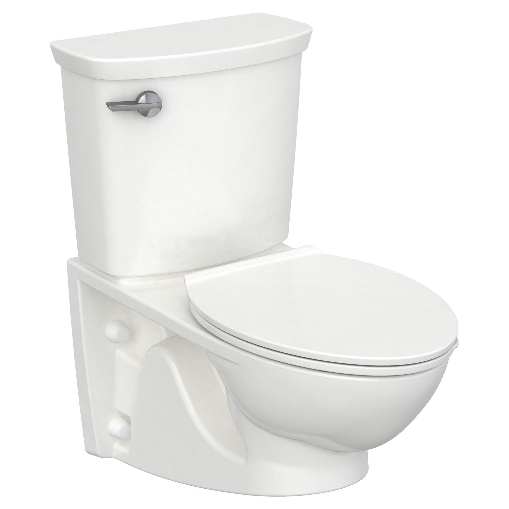 American Standard 2882107.020 Glenwall VorMax Wall-Hung Toilet with Left Hand Trip Lever, White