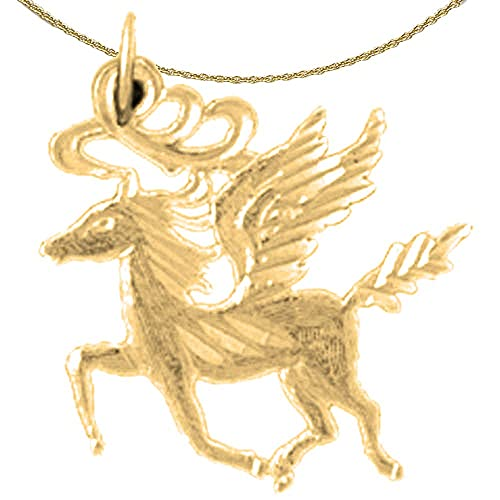 Jewels Obsession Someone Special Necklace 14K Yellow Gold-plated 925 Silver Someone Special Pendant with 18 Necklace