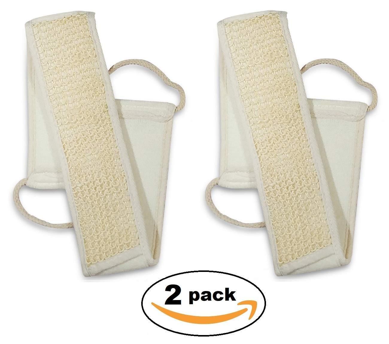Dry Brush & Skin Exfoliating Set - VEGAN. NO Boar Bristles - Natural 5 in 1 kit - Body Brush, Foot Brush & Pumice Stone, Loofah Back Scrubber, Face Konjac Sponge, Bath Gloves. Reduce Cellulite Sense Sation