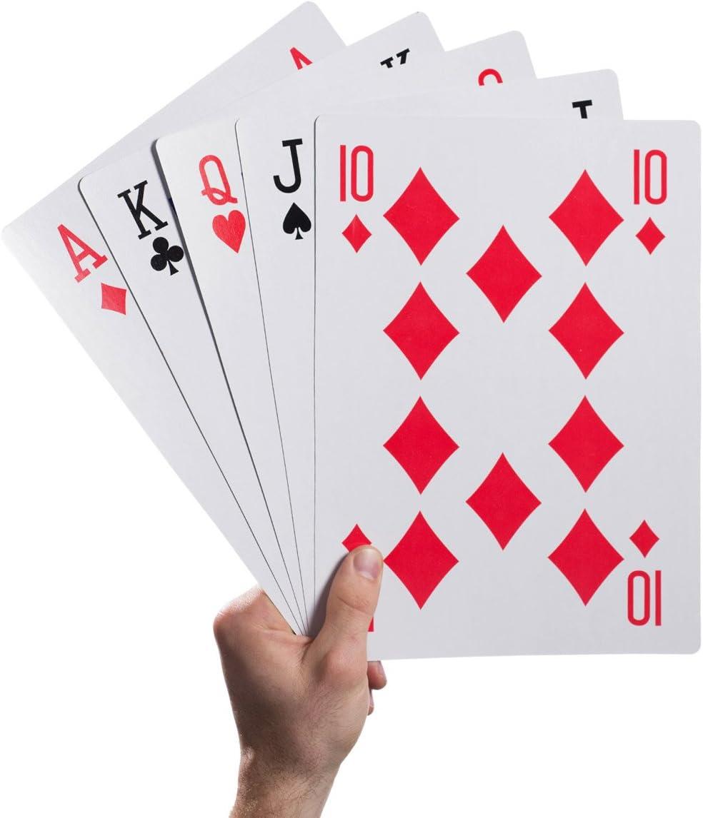 Jumbo playing plastic coated cards