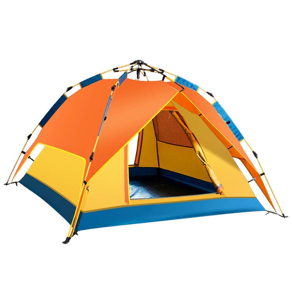 人気ブラドン 油圧テントキャンプが自動的に開き B07P3GVN8G、すぐに防水3-4人の軽いテント、オレンジを起動します B07P3GVN8G, 陸前高田市:73e63b1b --- ciadaterra.com