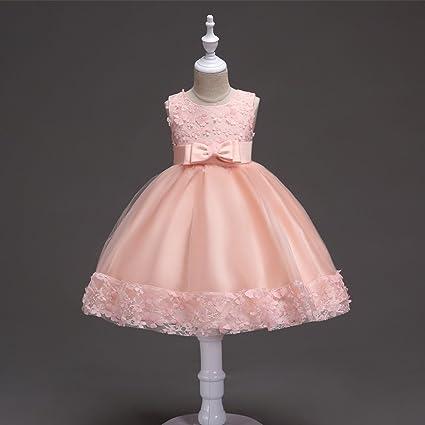 GHTWJJ Muchachas Vestido De Noche Vestidos De Baile De Boda Princesa Vestido De Novia Vestido De