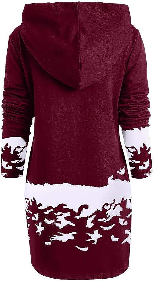 Elecenty damska sukienka z dzianiny, sukienka z długim rękawem, sukienka mini, sukienka koktajlowa, okrągły dekolt, modna sukienka z długim rękawem, sukienka wieczorowa: Odzież