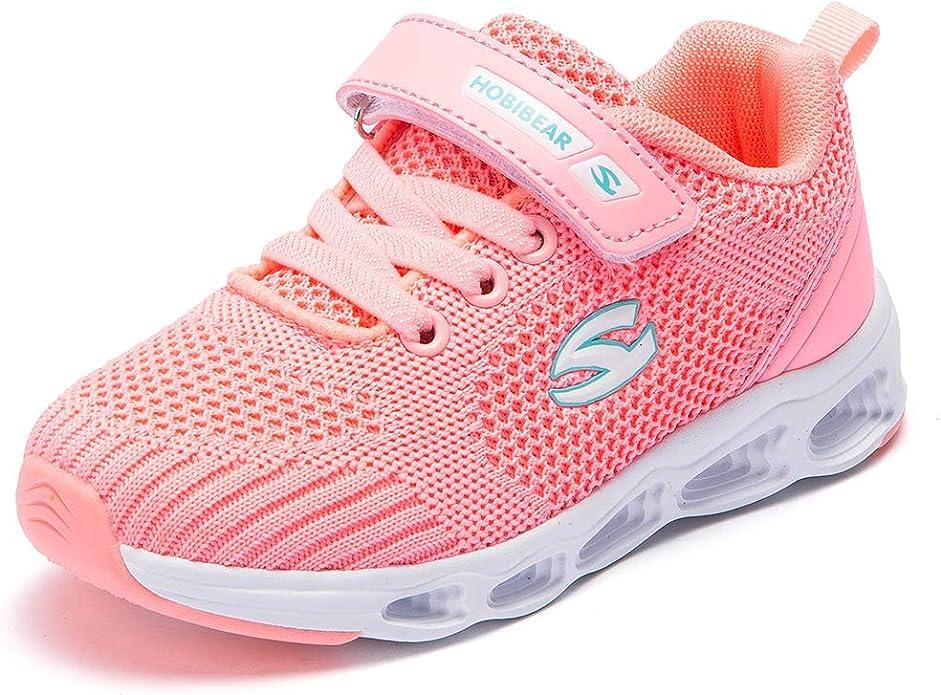 Zapatillas Deportivas para Correr para niños y niñas, Ligeras, Transpirables, Color Rosa, Talla 36 EU: Amazon.es: Zapatos y complementos