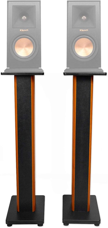 """(2) 36"""" Bookshelf Speaker Stands for Klipsch RP-150M Bookshelf Speakers"""