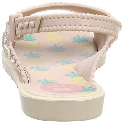 Zaxy M/ädchen Kids Weave Offene Sandalen mit Keilabsatz