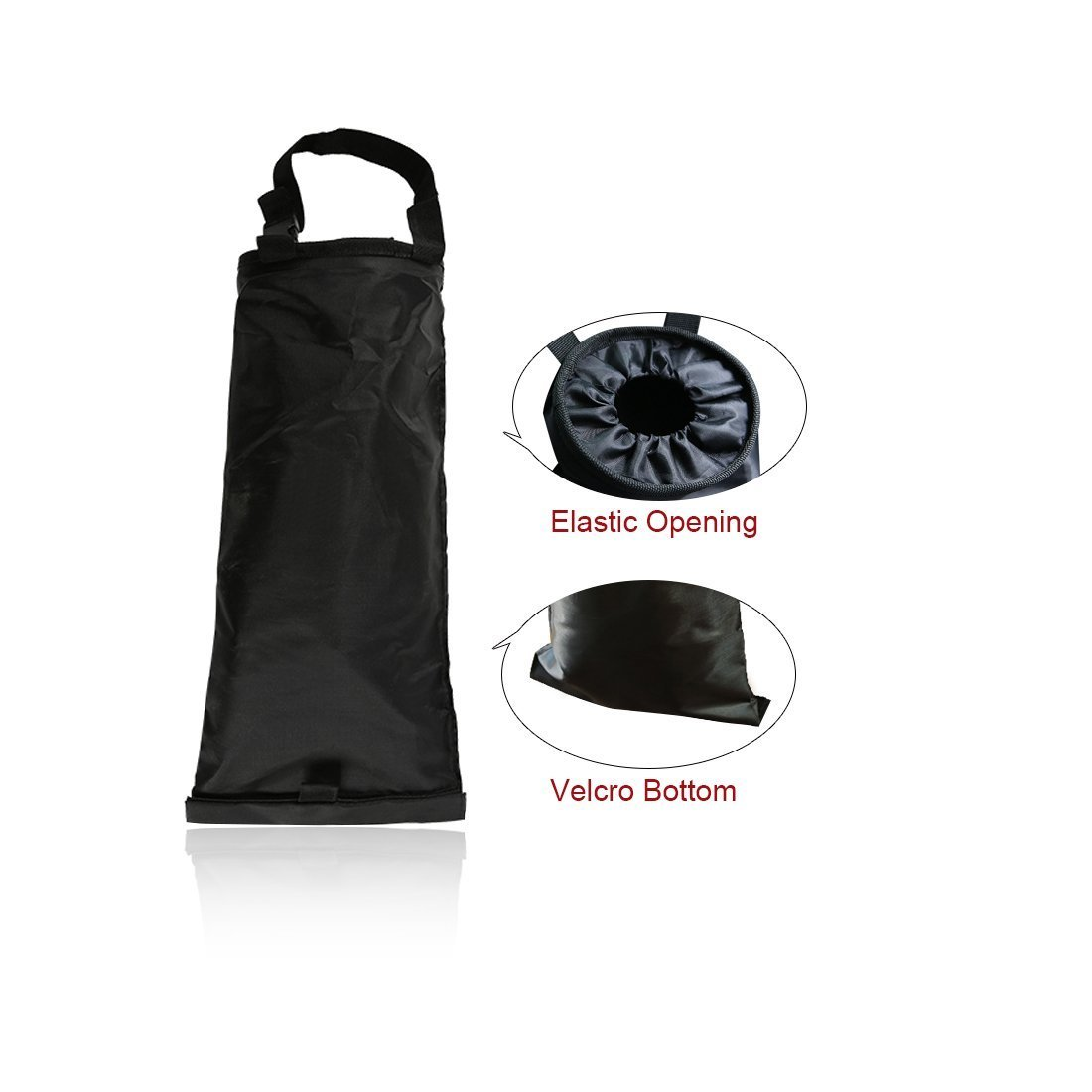 Juntu Car Garbage Bag,Car Vehicle Back Seat Headrest Litter Trash Garbage Bag Can and Auto Waste Holder and Organizer for Travelling Outdoor Home and Vehicle Use