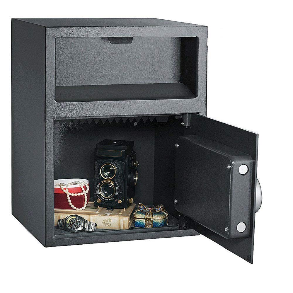 New Digital Safe Box Depository Drop Deposit Front Load Cash Vault Lock by Unknown