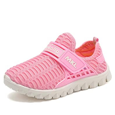 4b55dee93 CIOR Boys Girls Water Shoes Kids Shoes Sneakers Breathable Mesh Shoes for  Running Walking Swiming (